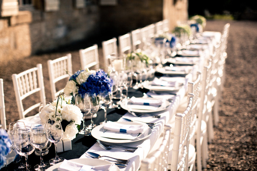 Design by Fete in France via K Hulet Photography & Wedding Table Settings | The Personal Touch Wedding Blog